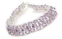 30 carat amethyst bracelet
