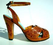 ankle-strap platforms