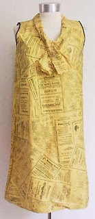 60s paper dress