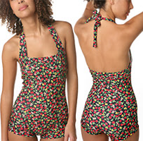 vintage style bathing suit
