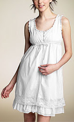 double-layer pin tuck dress