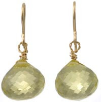 Briolette Drop Earring