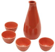 ceramic sake set