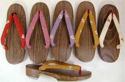 traditional Japanese sandal