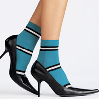 socks with heels