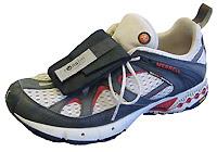 Velcro sneaker wallet