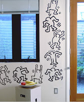 Keith Haring self-adhesive wall decals