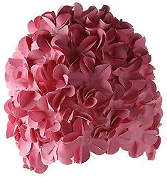 Flower Petal Swim Cap