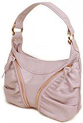 Elezar Morgan leather shoulder bag