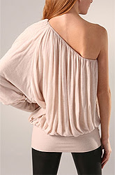 Sweetface One Shoulder Ruched Top