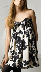 Milly Twist Strapless Dress