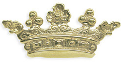 14kt Yellow Gold Crown Stick Pin