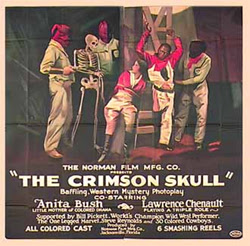 The Crimson Skull vintage movie poster