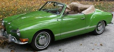 Classic 1971 Volkswagen Karmann Ghia Convertible