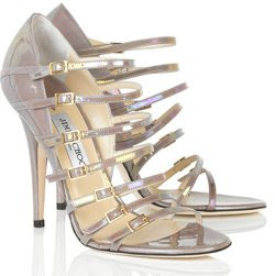 Jimmy Choo Atlas patent sandals