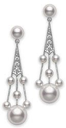 Mikimoto Pearl Legacy earrings