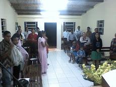 Visão da nave da Igreja Maravilhas em Caraíbas