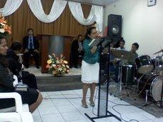 Miisonária Ana Glória Culto de Missões Maravilhas de Jesus Arcoverde PE