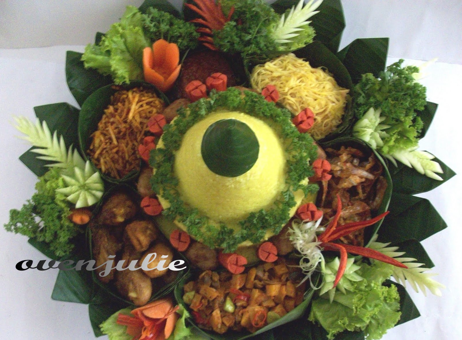 Hiasan Nasi Tumpeng Cake Ideas And Designs