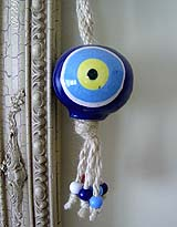 BLUE EYE BEAD