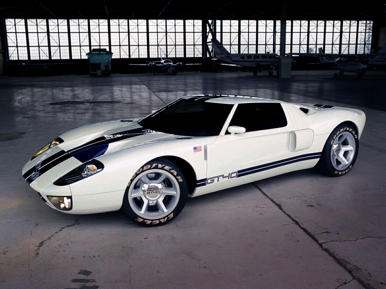 Sports Cars Ford Gt 40