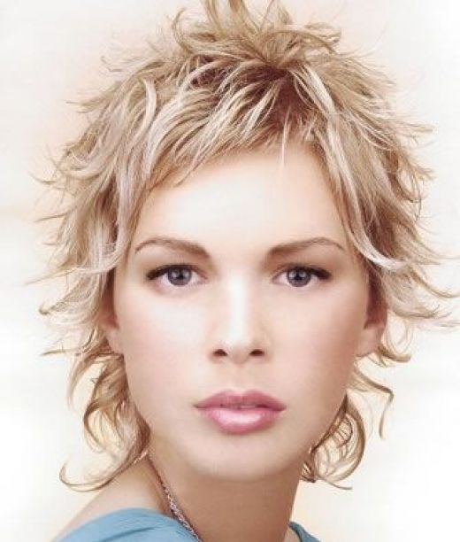 Pleasant Short Curly Layered Hairstyles Layered Hairstyles Gallery Hairstyles For Women Draintrainus