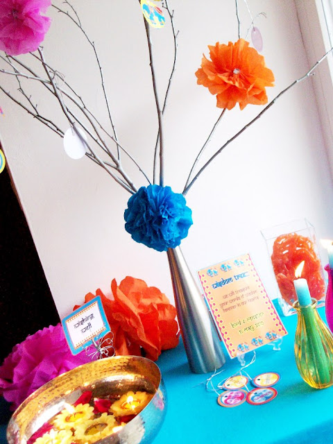 Bollywood Bling Indian inspired Party Decorations - BirdsParty.com