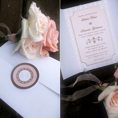 A Romantic Copper & Pink Wedding from Brazil