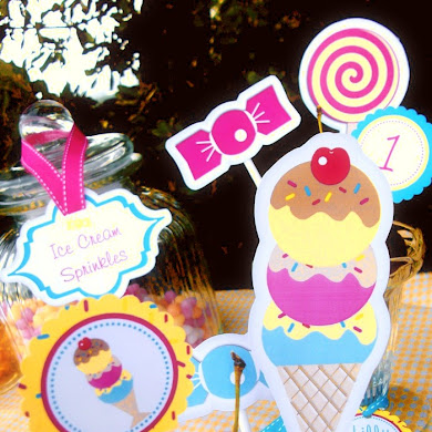 Ice Cream & Candy Birthday Party