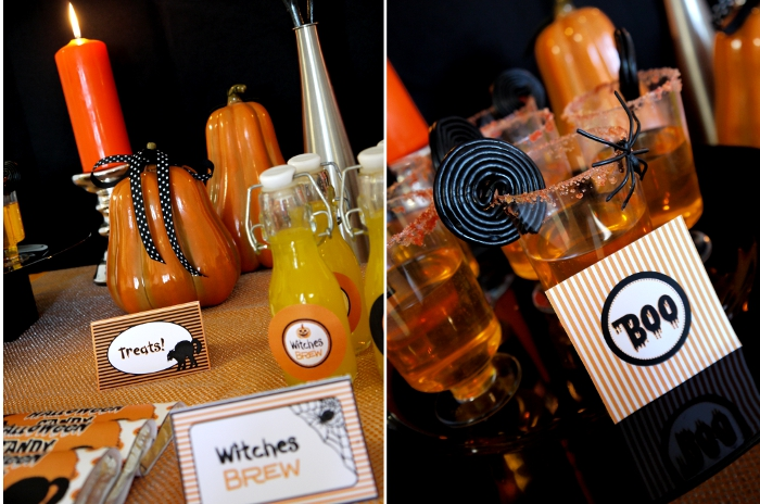 Last Minute Budget- Friendly Halloween Party - BirdsParty.com