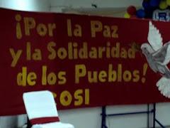 Todos solidarios con Bolivia..