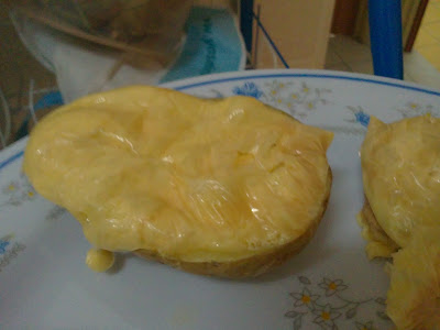 kentang bakar cheese