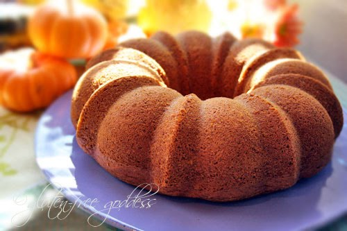 Gluten Free Goddess Recipes Gluten Free Pumpkin Bundt Cake