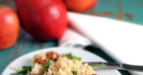 Gluten-Free Goddess Recipes: Quinoa Salad with Pears, Baby ...