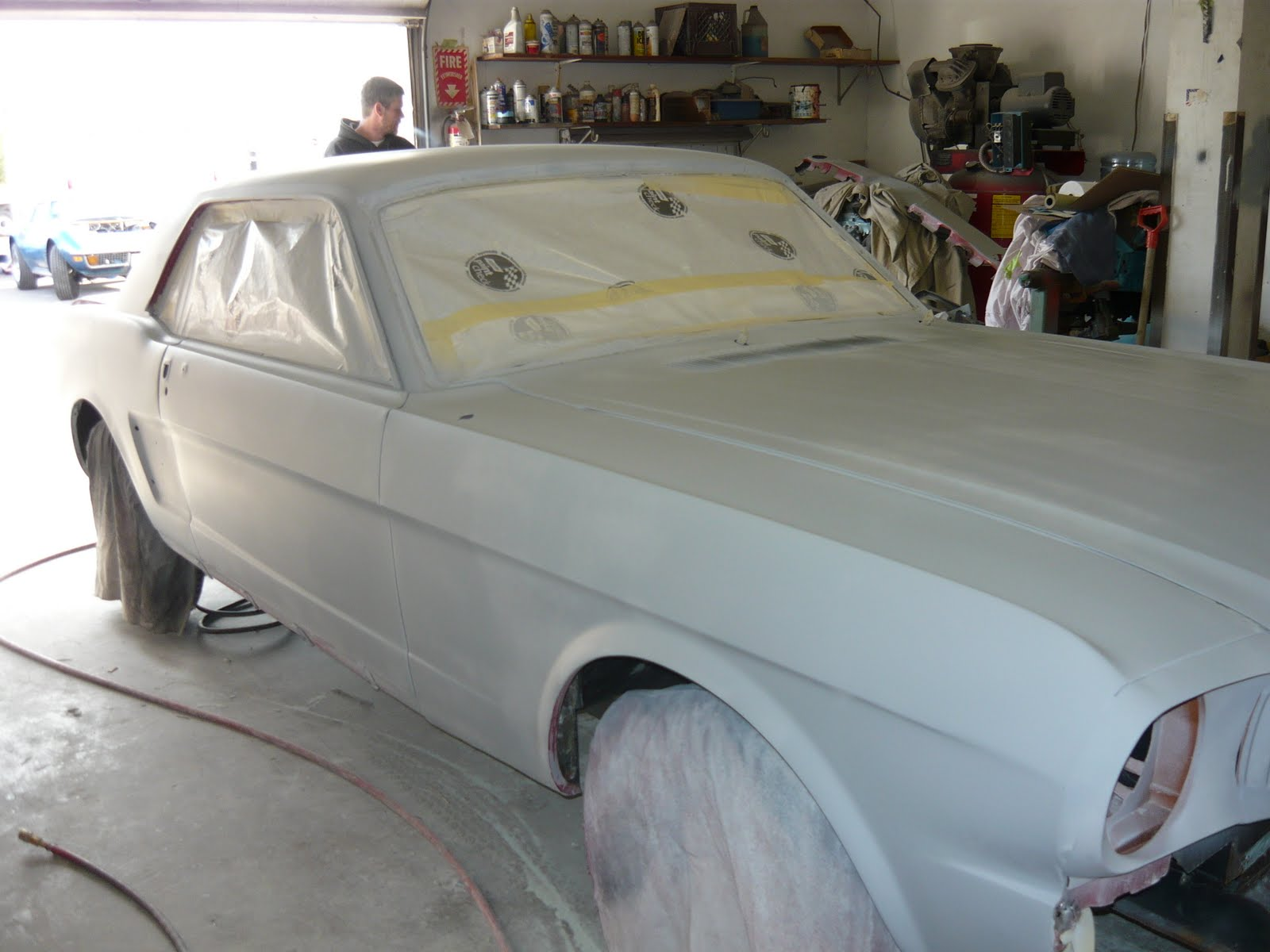Muscle Car Restoration Shop: Quality Paint Jobs For Your