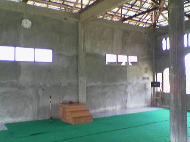bentuk mimbar masjid