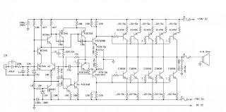 KRISNA SOUNDSYSTEM: Circuit Diagram Blazer 1000 Watt