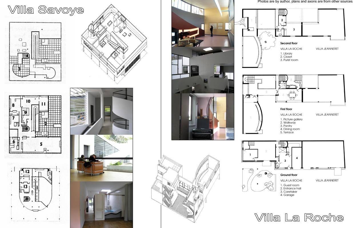 Maison La Roche Corbusier Paris boxed out: pass the corbusier (or architectural analysis 002