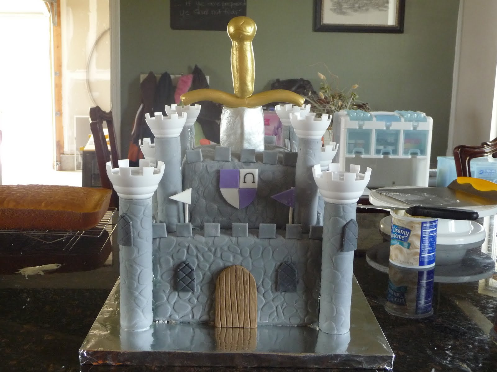 Imagine That Cake Ball Boy Castle