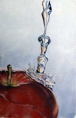 oil still life painting