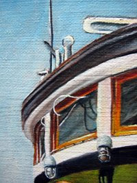 oil marine painting