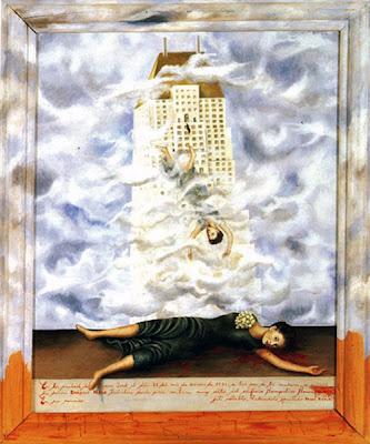 El Suicidio de Dorothy Hale por Frida Kahlo