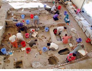 Escavações em Çatalhöyük põem a descoberto o amanhecer de uma civilização