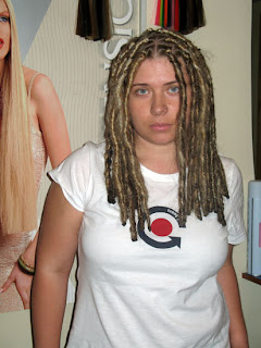 Nice Dreadlocks Hairstyle with Color for Women
