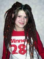 Pretty Dreadlocks Haircuts For Girl