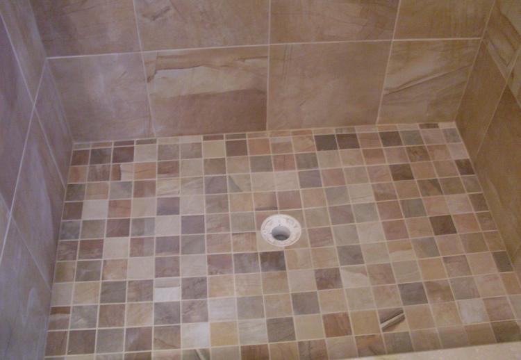 Kitchens & Baths by D'Zyne: Bathroom floor tile adventures ...