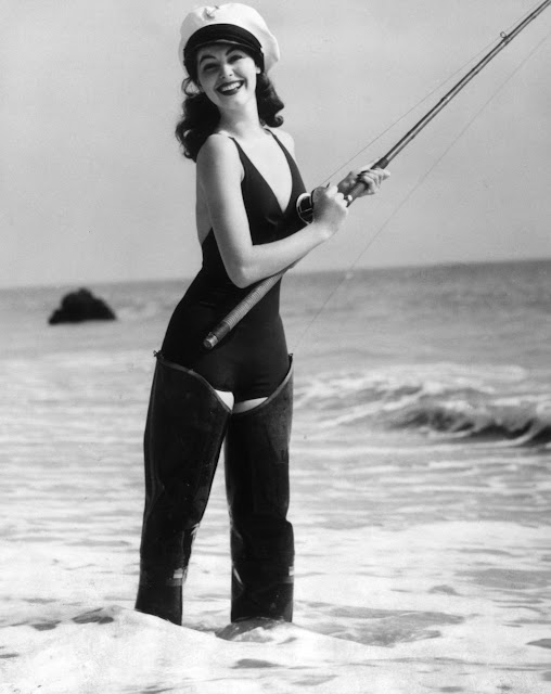 Ava Gardner Fishing