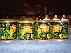Distintos envases para la miel fraccionada