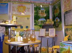 La producción de miel orgánica también estuvo presente