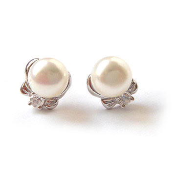 Pearl Earrings5B15D - �nci Kolye K�pe Modelleri